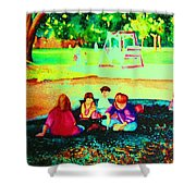 Childs Play Shower Curtain