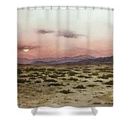 Chile Desert Shower Curtain