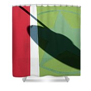 Chili Spot Shower Curtain