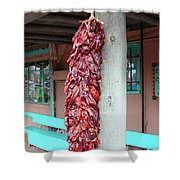 Chilies In Albuquerque Shower Curtain