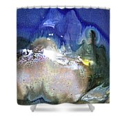 Chill Box Shower Curtain