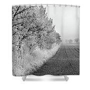 Chill In The Air Shower Curtain