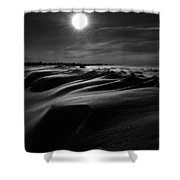 Chills Of Comfort Shower Curtain by Empty Wall