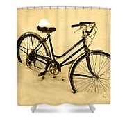 Chilly Ride Shower Curtain