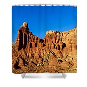 Chimney Rock At Capitol Reef Shower Curtain
