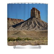 Chimney Rock Towaoc Colorado Shower Curtain