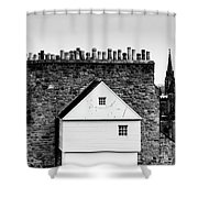 Chimneys In Edinburgh Shower Curtain