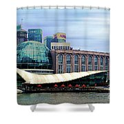 China 35 Shower Curtain
