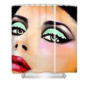 China Art Beautiful Lady Carmen Sander  Shower Curtain
