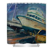 China Basin Shower Curtain