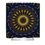 China Blue Shower Curtain