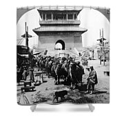 China: Caravan, C1919 Shower Curtain