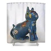 China Cat Shower Curtain