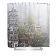 China City Shower Curtain