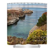 China Cove Shower Curtain by Yair Karelic