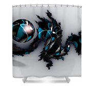China Dragon Shower Curtain