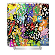 China Fortune Shower Curtain