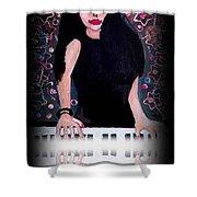 China Girl -print Shower Curtain