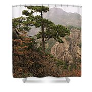 China, Mt. Huangshan Shower Curtain