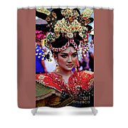 China Pageant Fashion Festival Shower Curtain