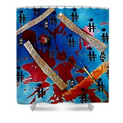 China Touch Shower Curtain