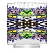 Chinatown Chicago 3 Shower Curtain