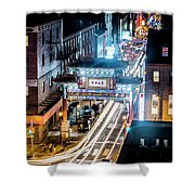 Chinatown Gates Shower Curtain