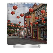 Chinatown Los Angeles 1 Shower Curtain
