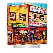 Chinatown Markets Shower Curtain