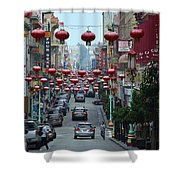 Chinatown, San Francisco Shower Curtain
