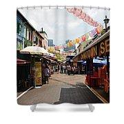 Chinatown Street Shower Curtain