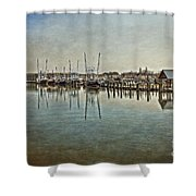Chincoteague Bay Shower Curtain