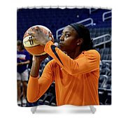 Chine Ogwumike Shower Curtain