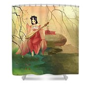 Chinese Ancient Type#1 Shower Curtain