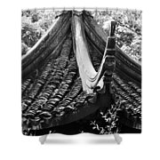 Chinese Architecture Shower Curtain