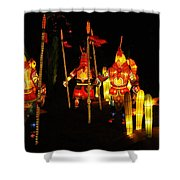 Chinese Lantern Festival British Columbia Canada 9 Shower Curtain