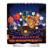 Chinese Lantern Festival Shower Curtain