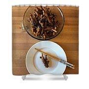 Chinese Spicy Chicken Feet Shower Curtain