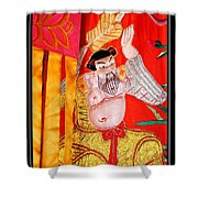 Chinese Tapestry Shower Curtain