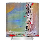 Chinese Whispers Shower Curtain