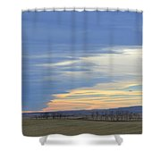Chinook Panorama Shower Curtain