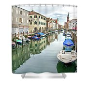 Chioggia Venice Italy Shower Curtain