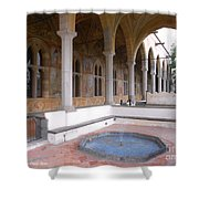 Chiostro Santa Chiara- Naples, Italy Shower Curtain