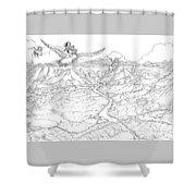 Chiricahua Mountains Shower Curtain
