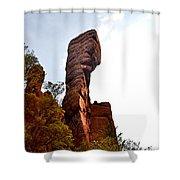 Chiricahua Mountaintop 006 Shower Curtain