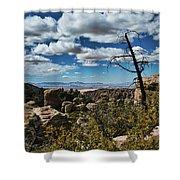 Chiricahua National Monument Shower Curtain