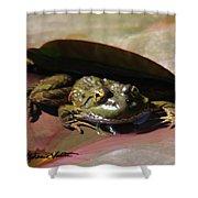 Chiricahua Leopard Frog Shower Curtain