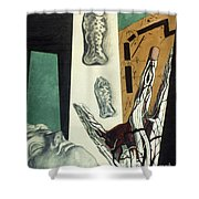 Chirico: Arch, 1914 Shower Curtain
