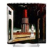 Chirico: Grand Tour, 1914 Shower Curtain