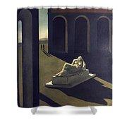 Chirico: Melancolie, 1914 Shower Curtain